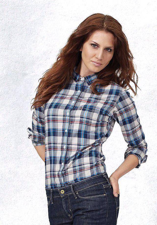 23. Клетчатые рубашки в разных вариациях ткани