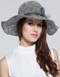 Летние шляпы вязанные крючком 3