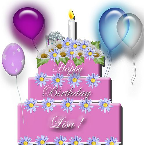 Happy Birthday Lisa 28166wall.gif   I love   Pinterest ...