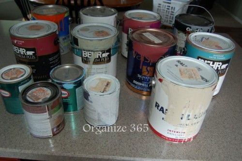 Disposing of Old Paint | Disposing of paint in the quickest and safest way.