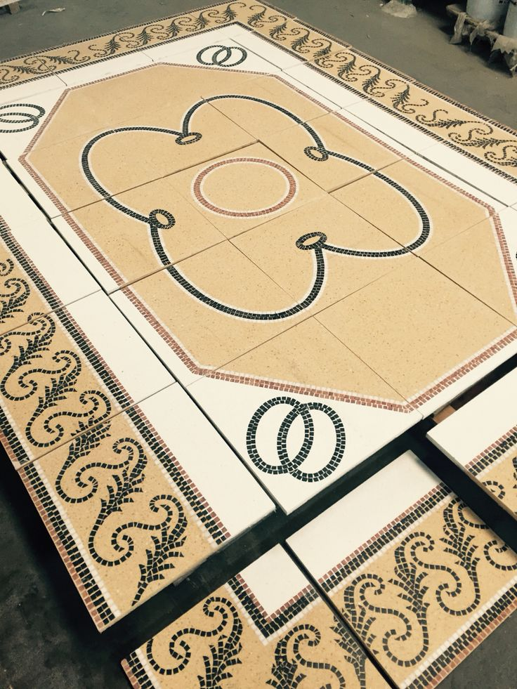 www.grandinetti.it - customized #terrazzo #mosaic