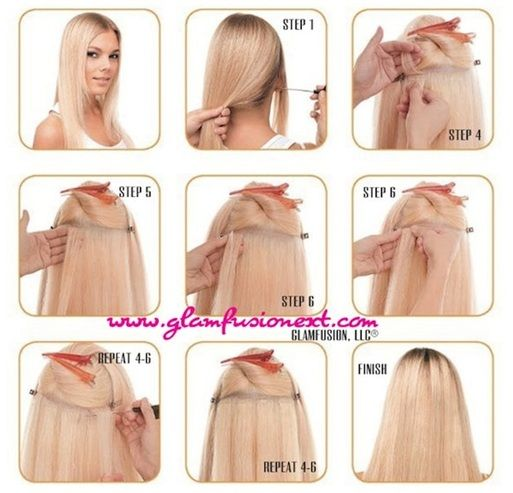 108 best hair extensions images on pinterest hair extensions diy tape in extensions pmusecretfo Gallery