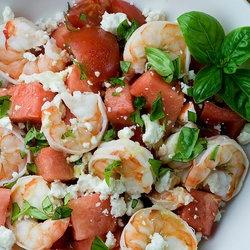 Shrimp, Watermelon and Salads on Pinterest