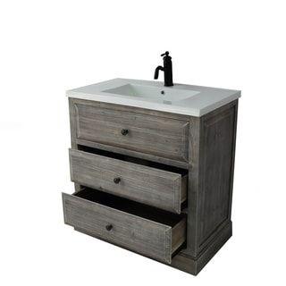 rustic style 30 inch bathroom vanity - Bathroom Vanity 30 Inch