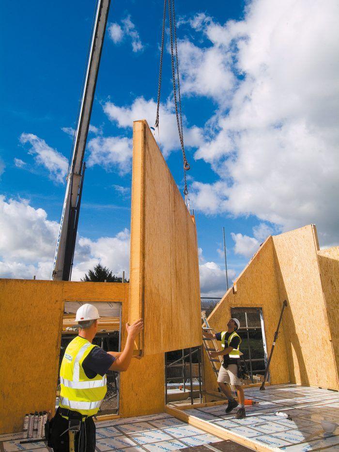 Essential Guide to SIPs | Welsh Oak Frame #SIPs #oak #guide #insulation #welshoakframe