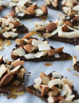 Coconut Almond Toffee - FoodBabbles.com