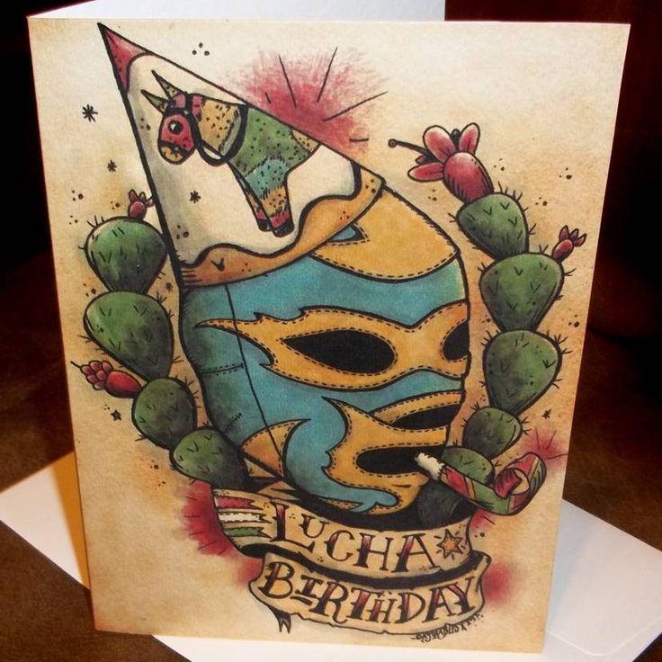 Открытка с днем татуировщика