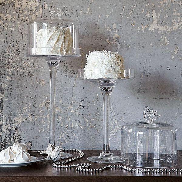 Прозрачные подставки для тортов