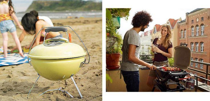 Barbacoas portátiles para tu terraza o jardín - http://www.decoora.com/barbacoas-portatiles-para-tu-terraza-o-jardin.html