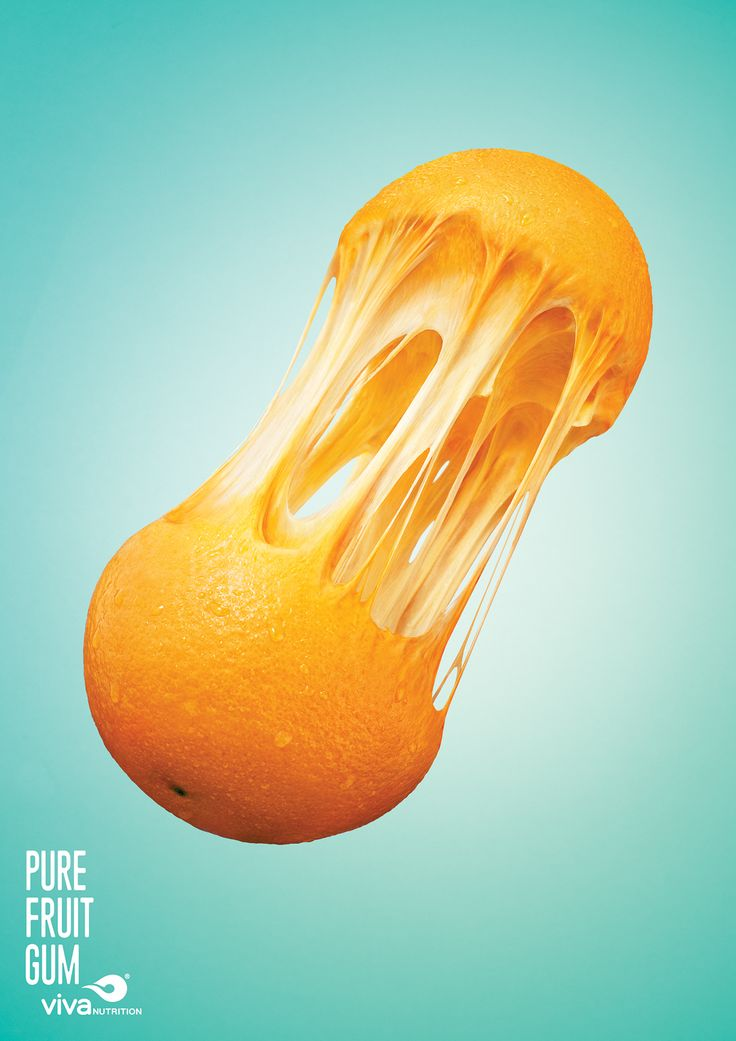 Viva Nutrition® Pure Fruit Gum 2016(Posters) on Behance