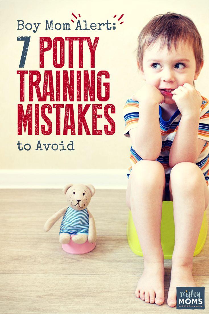 Boy Mom Alert: 7 Potty Training Mistakes to Avoid http://www.mightymoms.club/boy-potty-training/?utm_campaign=coschedule&utm_source=pinterest&utm_medium=Mighty%20Moms&utm_content=Boy%20Mom%20Alert%3A%207%20Potty%20Training%20Mistakes%20to%20Avoid