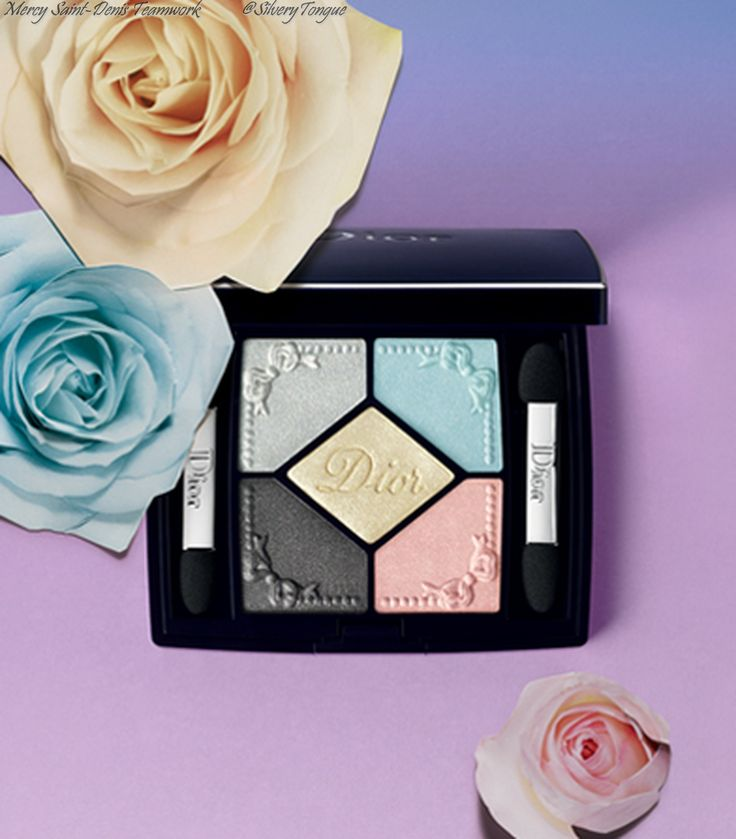 Dior 'Trianon' Makeup Collection for Spring 2014.