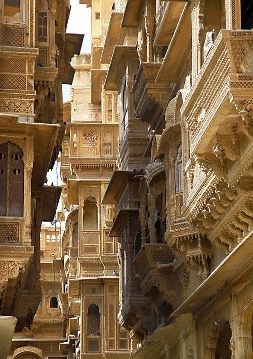 Charisma Arts Buildings in Jaisalmer, Pakistan #Architects #Construction #Architecture  http://www.arcon.pk/contact-us