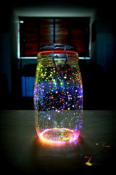 Faça a sua Festa: Decoração linda com pulseiras de neon!