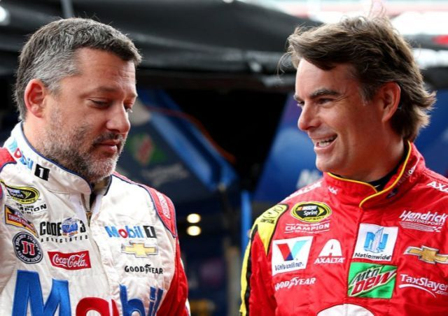 The departures of Tony Stewart and Jeff Gordon will leave NASCAR a far different sport. (Getty)