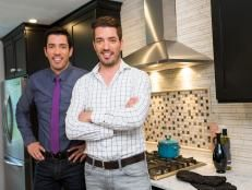 Property Brothers Drew and Jonathan Scott specialize in helping realize the dream of inspired home makeovers as seen in these dramatic room transformations.