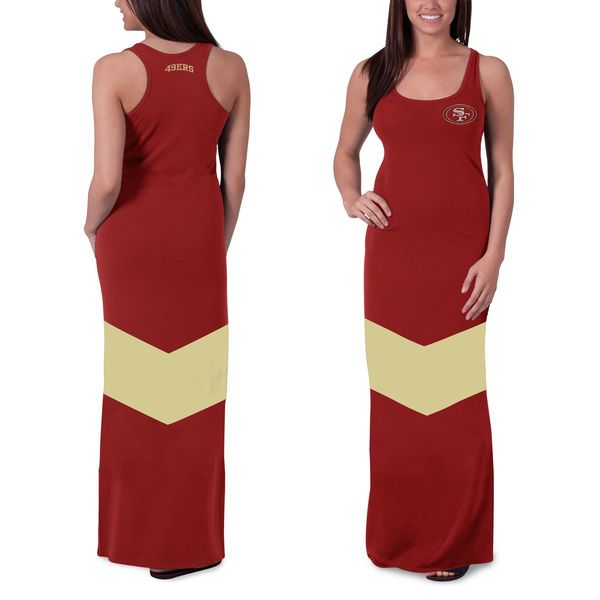 Evening dress gold 49ers