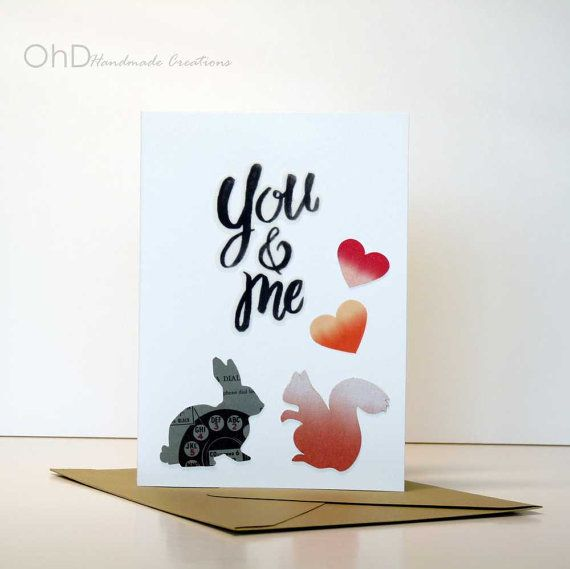 Valentine's cute greeting card