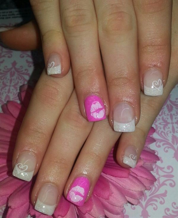 1000+ Images About Valentines Day Nail Art On Pinterest