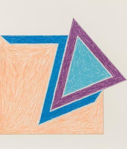 Frank Stella, Eccentric Polygon, 1974, Caviar20