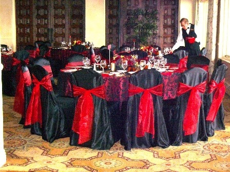 Red And Black Wedding Colors, Only Fitting For A Red Raider/cornhusker  Wedding!