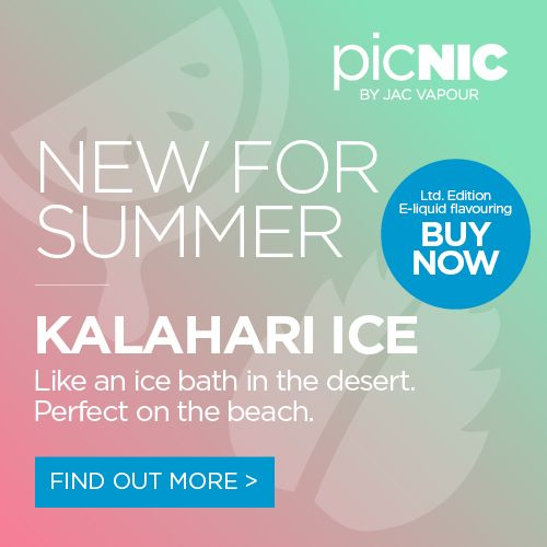 Kalahari Ice is like a cool, refreshing ice bath in the desert. Perfect for the beach. Our picNIC Easy Mix DIY E-liquid starter kits contain everything you'll need to get started - a bottle of base liquid, 2x flavour concentrates and mixing supplies. #eliquid #eliquids #diy #adv #ecig #ecigs #vaping #vape #picnic #jacvapour
