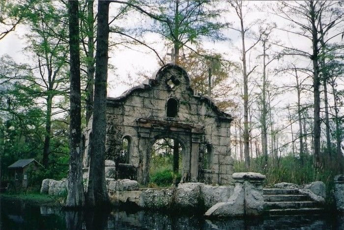 These 15 Places In South Carolina Will Absolutely Terrify You | Cypress Garden Ruins (Monck's Corner, SC)
