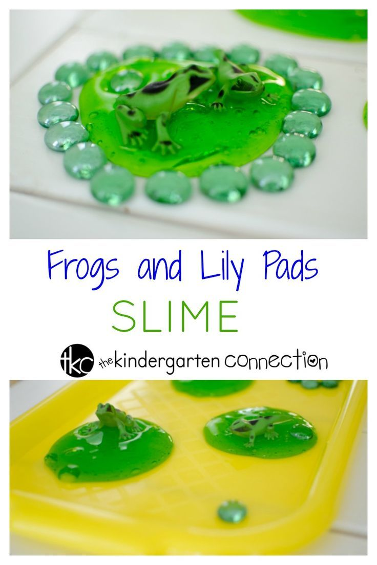 This lily pad frog slime recipe is a great way to make slime and have hands-on fun while learning about ponds or frogs. Use it for a frog theme!