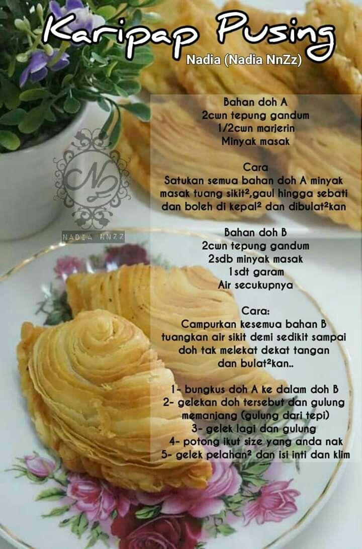 Karipap Pusing Food Snack Recipes Dessert Recipes