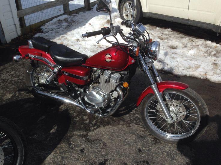 2002 Honda Rebel CMX250C, my baby