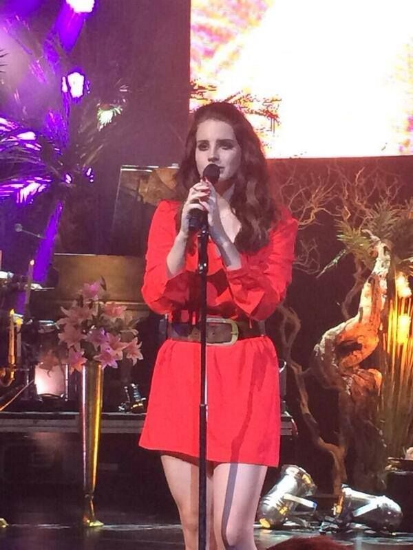 Lana Del Rey, verizon theatre Grand Prairie tx