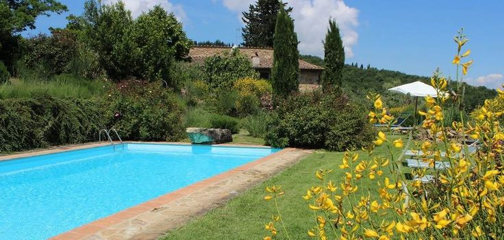 Rent Villa Chianti, Tuscany Villas for Rent. Large garden, swimming pool, a fully equipped kitchen, very spacious internal - about 480 sq. meters - and many terraces with breathtaking views over the Chianti hills.  #rent #tuscany #chianti #villas #villa