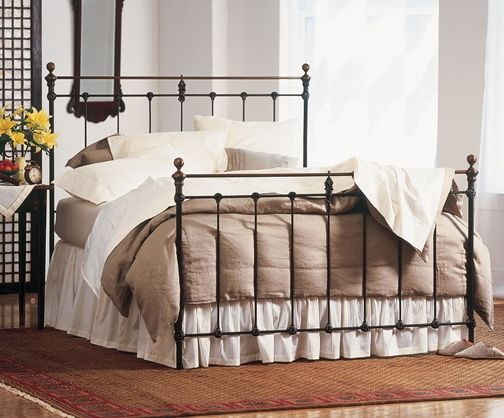 1000 images about brass beds wrought iron beds on pinterest guest rooms iron bed frames and. Black Bedroom Furniture Sets. Home Design Ideas