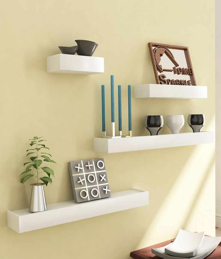 Sourcing India White Wall Shelves (set Of 4), http://www.snapdeal.com/product/sourcing-india-white-wall-shelves/30239226
