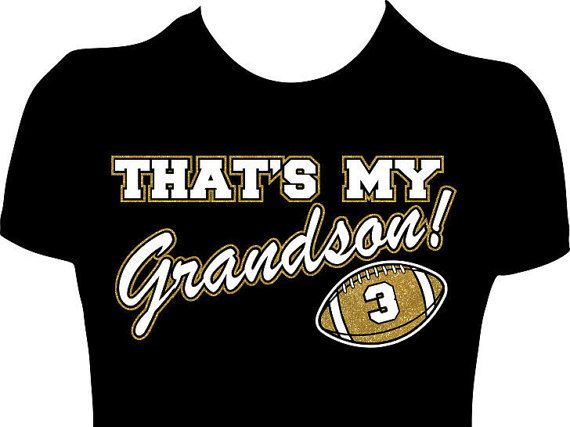 Custom Football Grandma Shirt. Women Custom Football by GlitzyTees