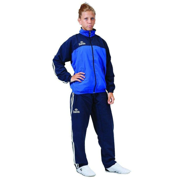Chandal Daedo de Micro Fibra Azul Marino / Royal - €41.72  https://soloartesmarciales.com  #ArtesMarciales #Taekwondo #Karate #Judo #Hapkido #jiujitsu #BJJ #Boxeo #Aikido #Sambo #MMA #Ninjutsu #Protec #Adidas #Daedo #Mizuno #Rudeboys #KrAvMaga #Venum