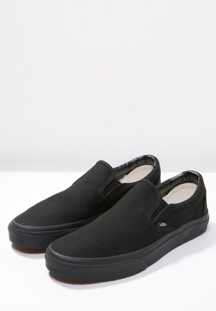 Vans CLASSIC - Trainers - black - Zalando.co.uk