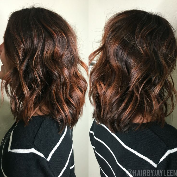 Best 25 chocolate red hair ideas on pinterest dark red brown hair red brown hair color and - Balayage pour brune ...