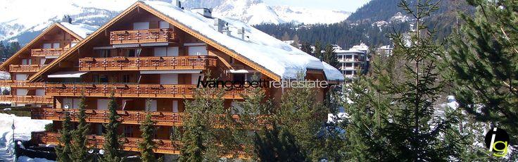 Switzerland Crans Montana luxury apartment
