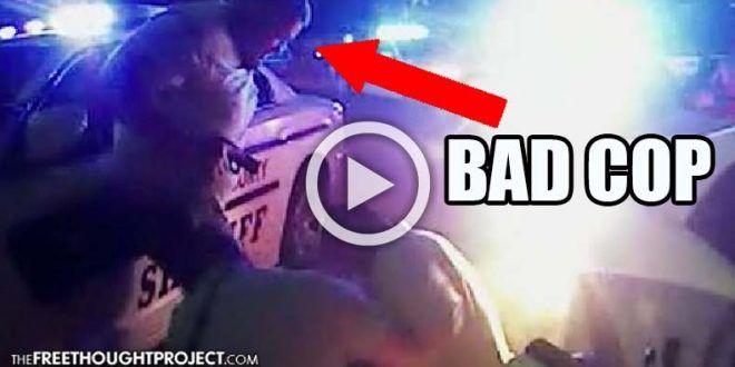 Bad Cop Arrested After Good Cop Filmed Him Stomp Innocent Man's Head In