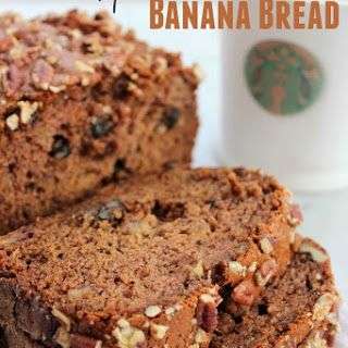 Copycat Starbucks Banana Nut Bread