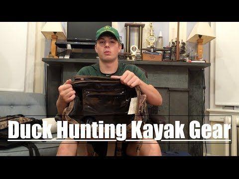 YouTube. Duck Hunting Kayak Gear