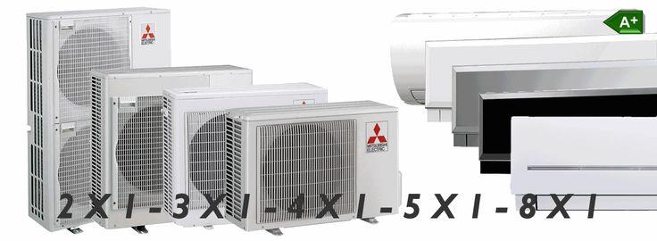Serie MXZ (Multi-Split) la serie multisplit de aire acondicionado mitsubishi electric