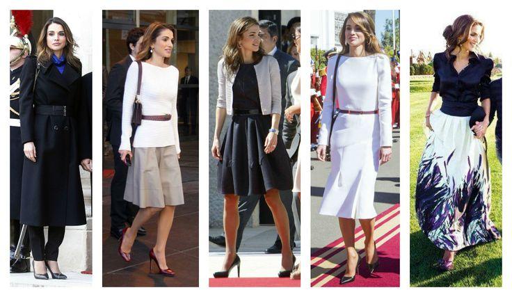 Rania di Giordania style