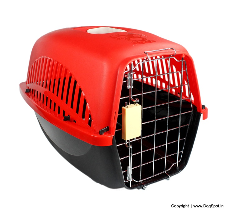 Dog Travel Crate Extra Small - LxWxH - 19x13x12 buy Online Dog Crate http://www.dogspot.in/crates/