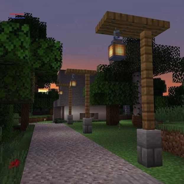 Daily Minecraft Posts On Instagram New 1 14 Lamp Design By U Galaxyspectator Follow Minecarat In 2020 Minecraft Tutorial Minecraft Architecture Amazing Minecraft