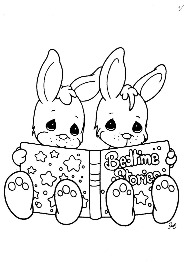 Coloring pages precious moments printable - Precious Moments Coloring Pages