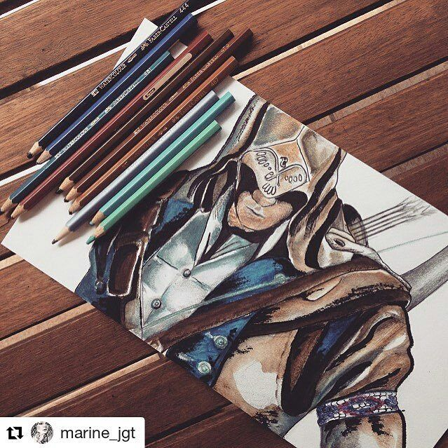 Assassins Creed  . . #assassinscreed #ConnorKenway #Assassin #Game  #Draw #Drawing #Art #Fanart #Artist #Illustration #Design #sketch #doodle #tattoo #Arthelp #Anime #Manga #Otaku #Gamer #Nerdy #Nerd #Comic #Geek #Geeky . . Geek drawings gallery.  Use #ArtForGeeks for a chance to be featured  Artist credit