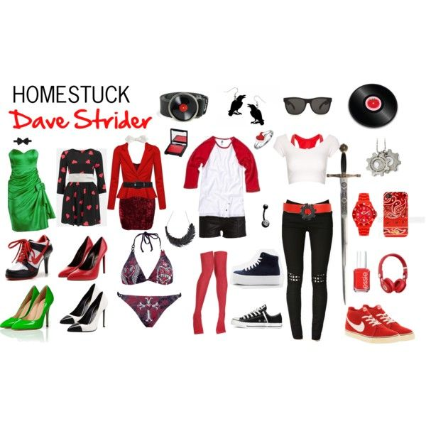 Homestuck Fashion: Dave Strider Sooooooooooo NEED this stuff!!!