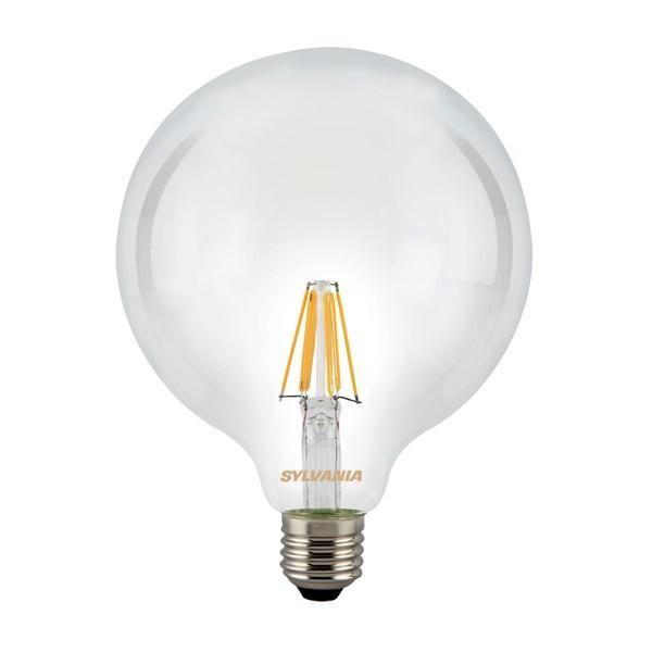 SYLVANIA ToLEDo GLOBO G120 Lampadina a Filamento LED E27 luce calda 7,5W
